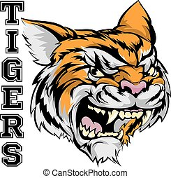 Tigers Sports Mascot