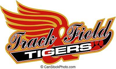 tigers track & field
