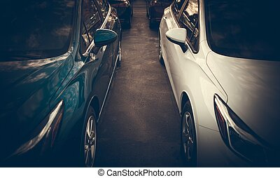 Tight Car Parking Spaces
