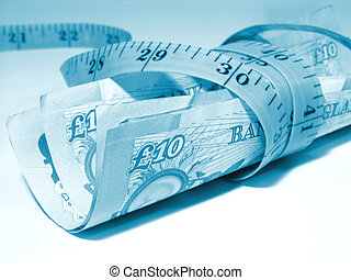 Conceptual financial image