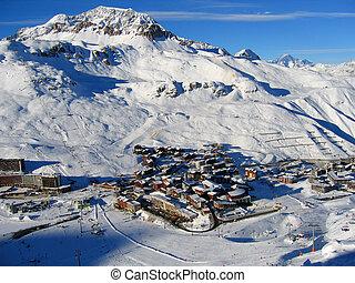 Tignes - Ski town, France