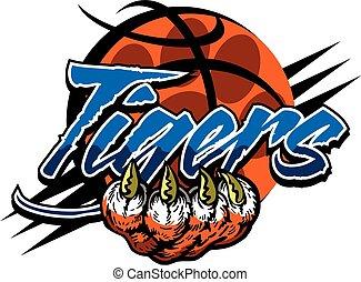 tigre, baloncesto