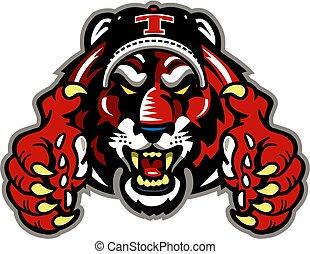 tigre, base-ball
