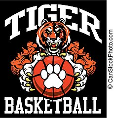 tigre, basket-ball