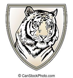 tigre, crête