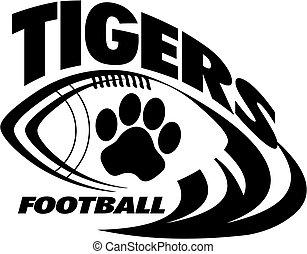 tigre, fodbold