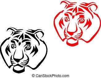 tigre, mascottes
