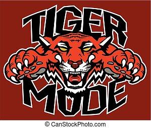 tigre, mode
