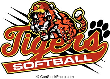 tigre, softball