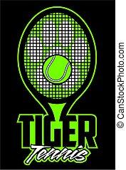 tigre, tennis