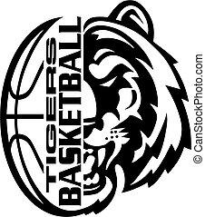 tigres, baloncesto