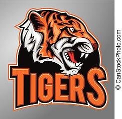 tigres, mascotte