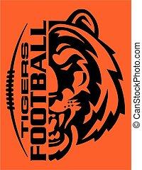 tigris, labdarúgás