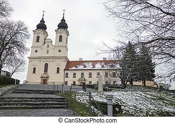 Tihany Abbey in Hungary