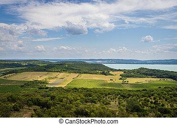 Tihany Peninsula at Lake Balaton