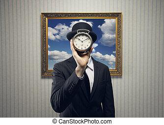 tijd, concept