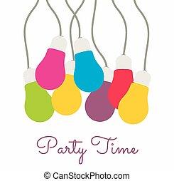 tijd, feestje