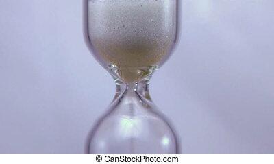 tijd, hourglass, wrakkigheid