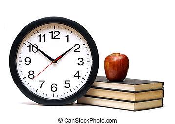 tijd, voor, leren