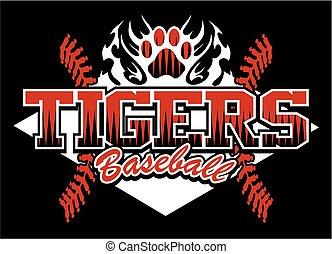 tijgers, honkbal