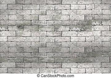 tijolo branco, parede