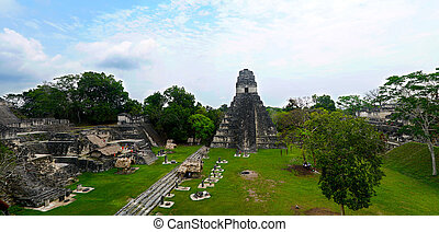 Tikal Capital of Maya Civilization in Guatemala