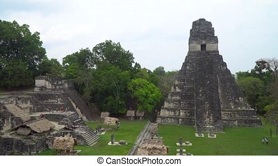 Temple of the Masks in Tikal National Park, Guatemala.