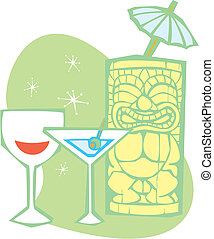 Tiki and Martini