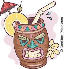 Tiki Mug Drink