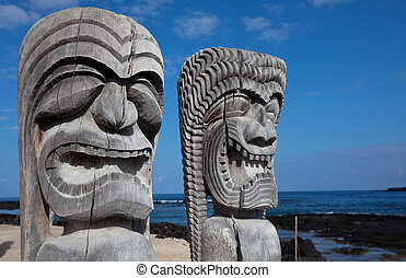 tikki, hawaiano