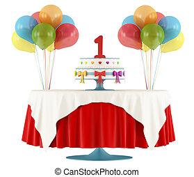 til lykke med fødselsdagen, først