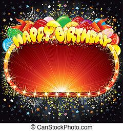til lykke med fødselsdagen, tegn