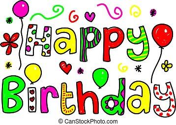 til lykke med fødselsdagen