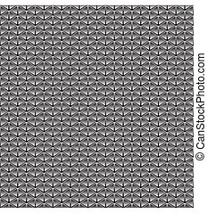 Tile abstract geometric pattern. - Abstract geometric black...