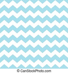 Tile blue chevron vector pattern