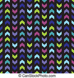 Tile chevron vector pattern - Chevron seamless vector dark...