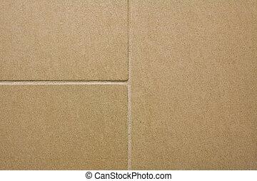 Close-up shot of a tiled texture