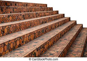 Tile concrete Staircase