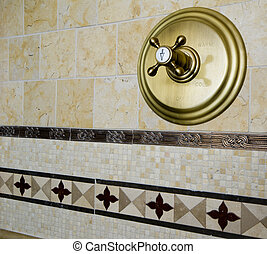 tile detail shower - detail custom tile work bathroom wall...