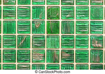 Tile mosaics. - Old and dirty mosaic tiles seamless surface...