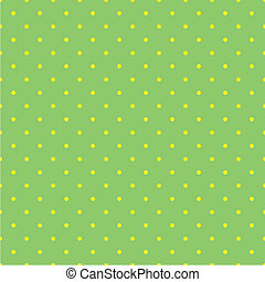 Tile polka dots vector pattern