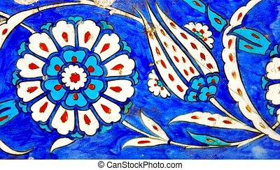 Tile - Ancient Handmade Turkish Tiles