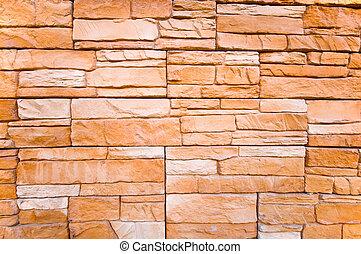 tile stone wall