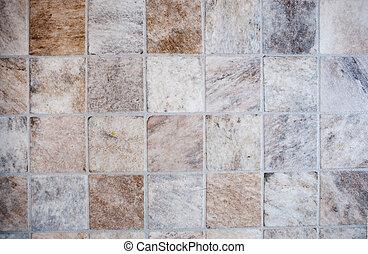Tile Texture - A very detailed image of a linoleum tile...