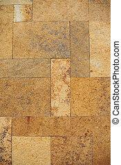 Rectangular tile texture wall background