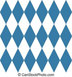Tile vector blue and white pattern