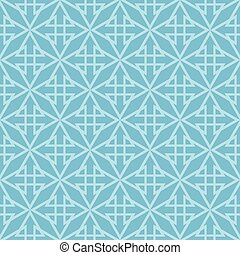 Tile vector blue pattern