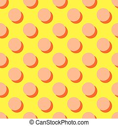 Tile vector pattern with pink dots
