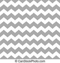 Tile vector zig zag pattern - Tile vector pattern with white...