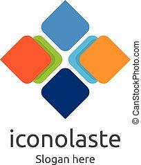 tile wall logo icon for carpet, floor, ceramic industry. hexagon letter x concept design template vector